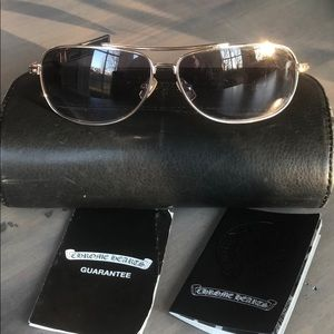 7e05e6cd0ce Authentic Chrome Hearts Sunglasses